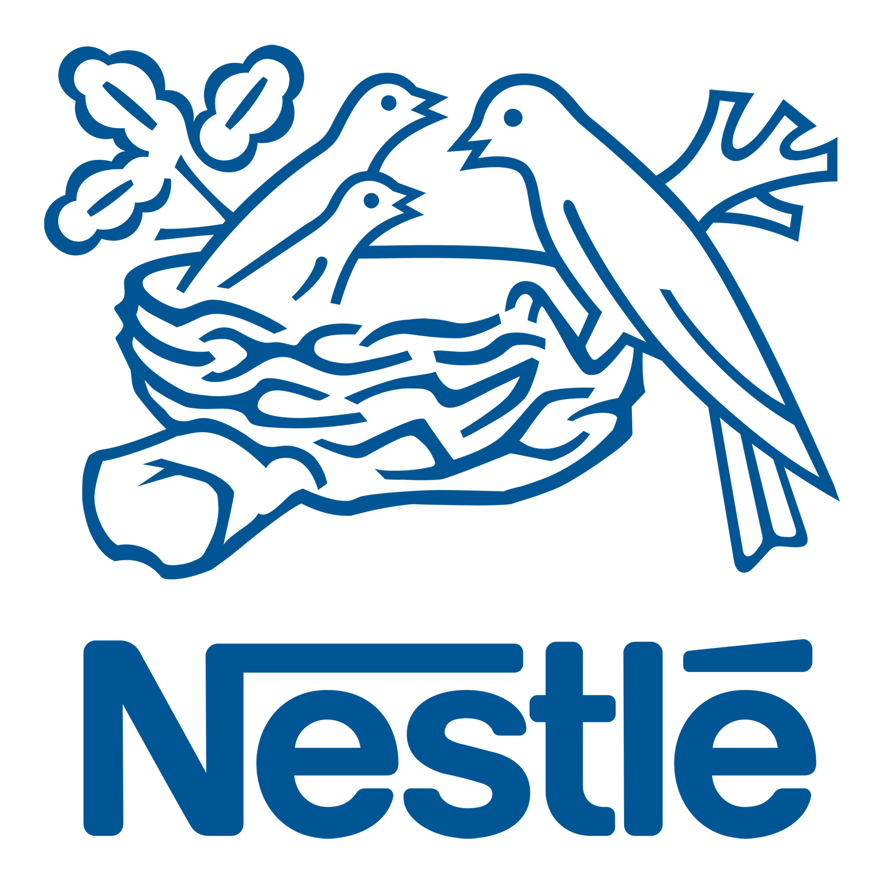 Meaning Nestle logo and symbol | history and evolution