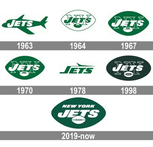 New York Jets Logo history