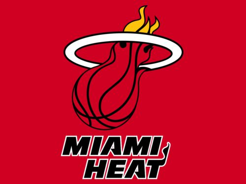Color Miami Heat Logo