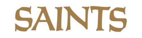 Font New Orleans Saints Logo