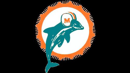 Miami Dolphins Logo 1966