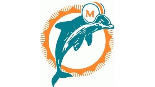 Miami Dolphins Logo 1974