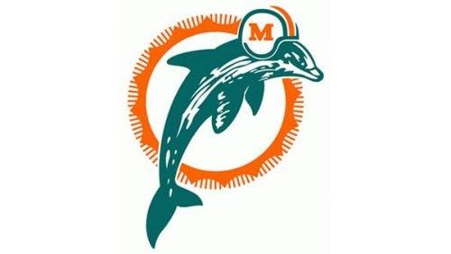Miami Dolphins Logo 1980
