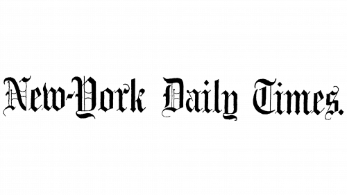 New York Times Logo 1851