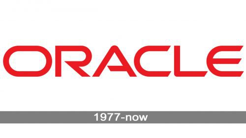 Oracle Logo history