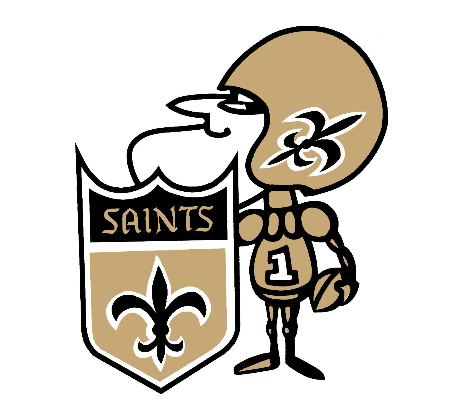 New Orleans Saints Logo New Orleans Saints Symbol Meaning History
