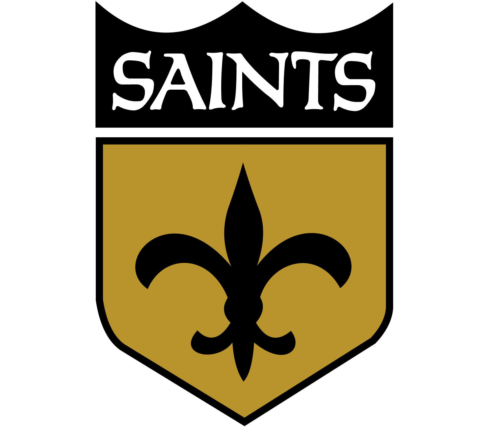 Meaning New Orleans Saints logo and symbol | history and ...