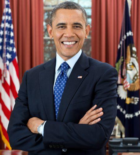 Barack Obama US president