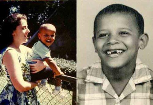 Barack Obama childhood
