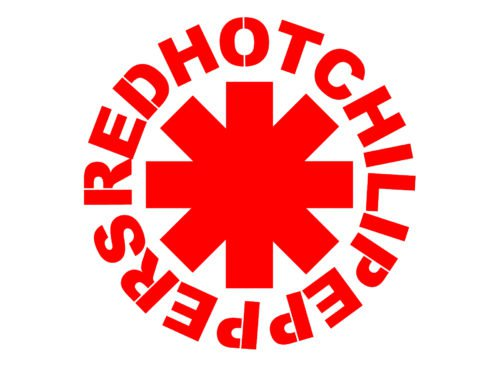 Color Red Hot Chili Peppers Logo