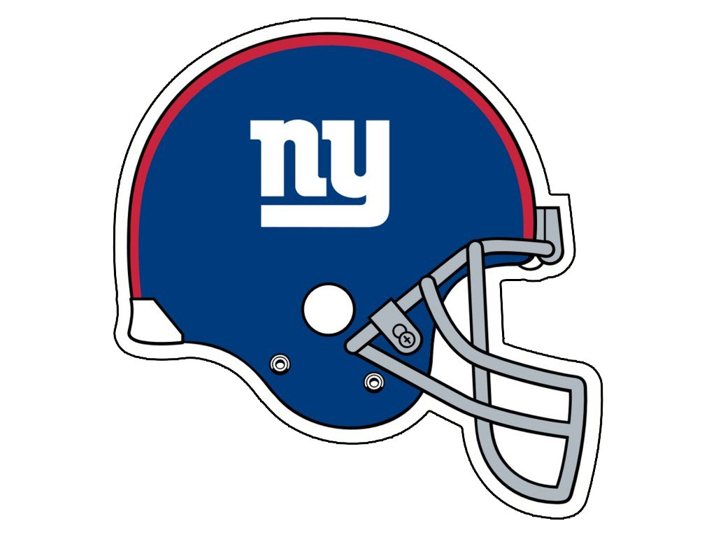 This is a graphic of Witty New York Giants Logos