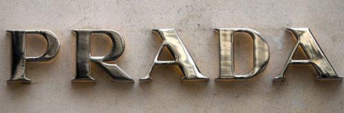 Font Prada Logo