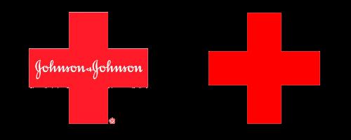 Johnson & Johnson and red cross