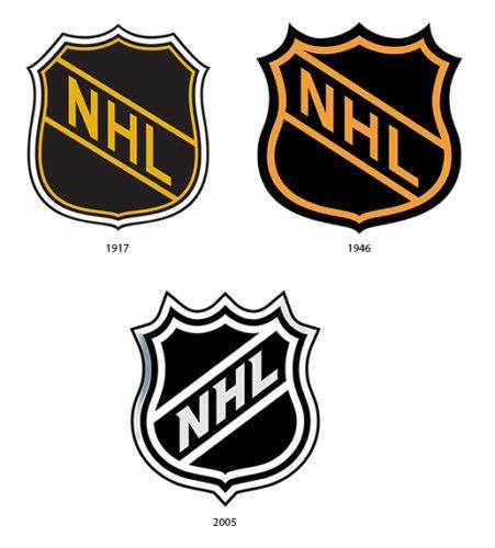 NHL Logo history