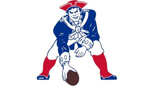 New England Patriots Logo 1971
