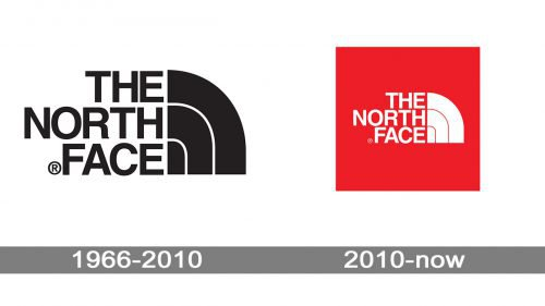 North Face logo history