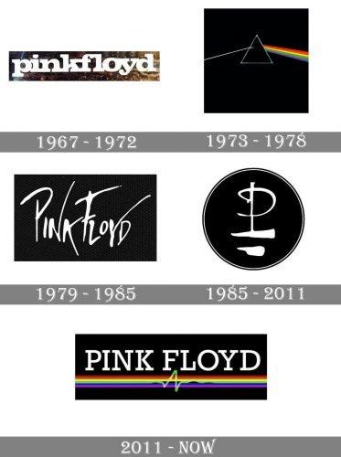 Pink Floyd Logo history