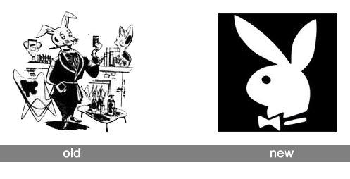 Playboy Logo history