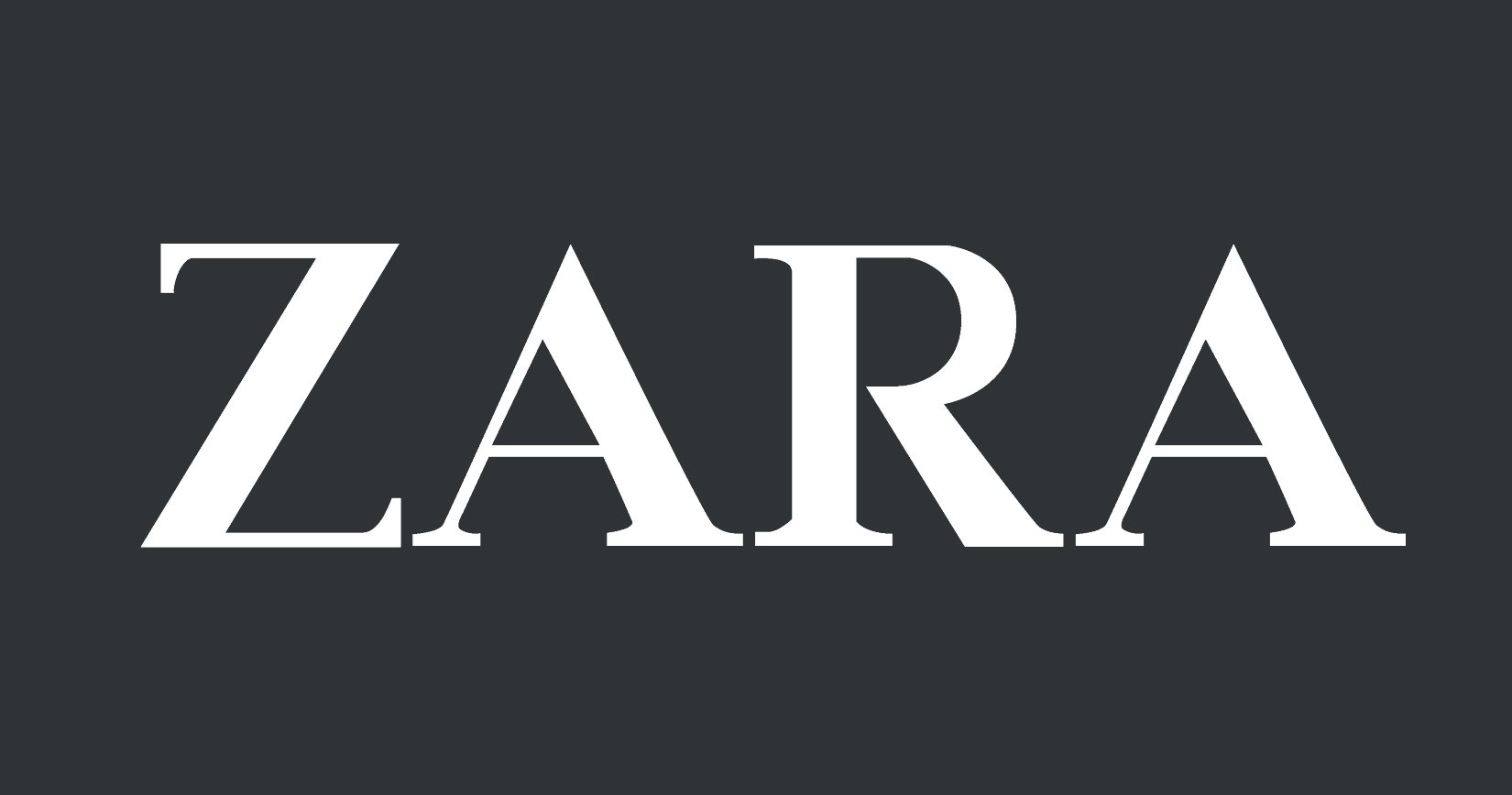zara logo zara symbol meaning history and evolution. Black Bedroom Furniture Sets. Home Design Ideas