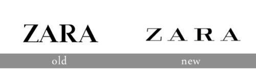 Zara logo history