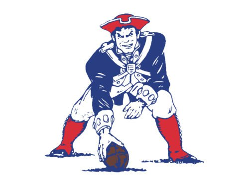 new england patriots old logo