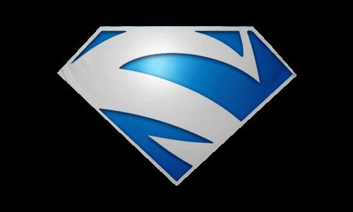 Electric Blue superman logo 1997