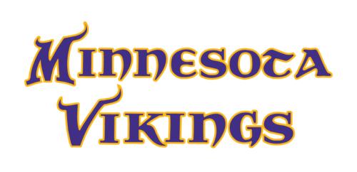 Font Minnesota Vikings logo