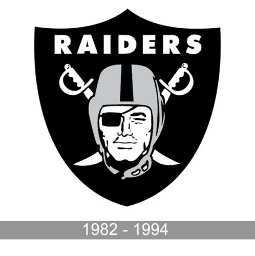 Los Angeles Raiders Logo history