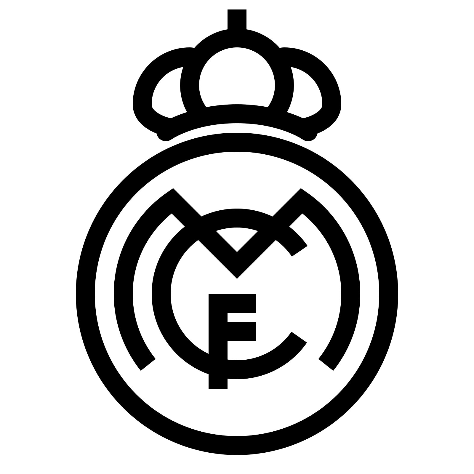 Real madrid logo real madrid symbol meaning history and evolution real madrid symbol biocorpaavc Images