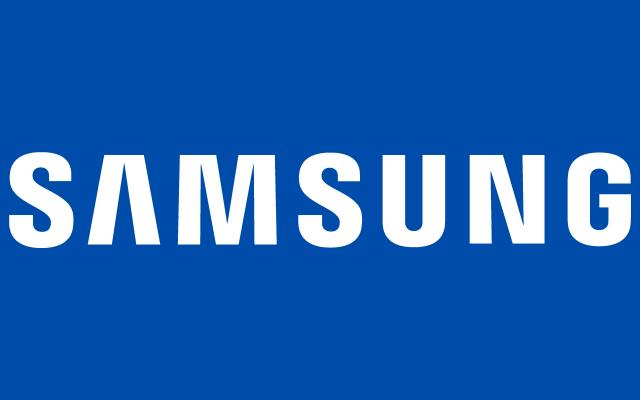 Samsung logo color