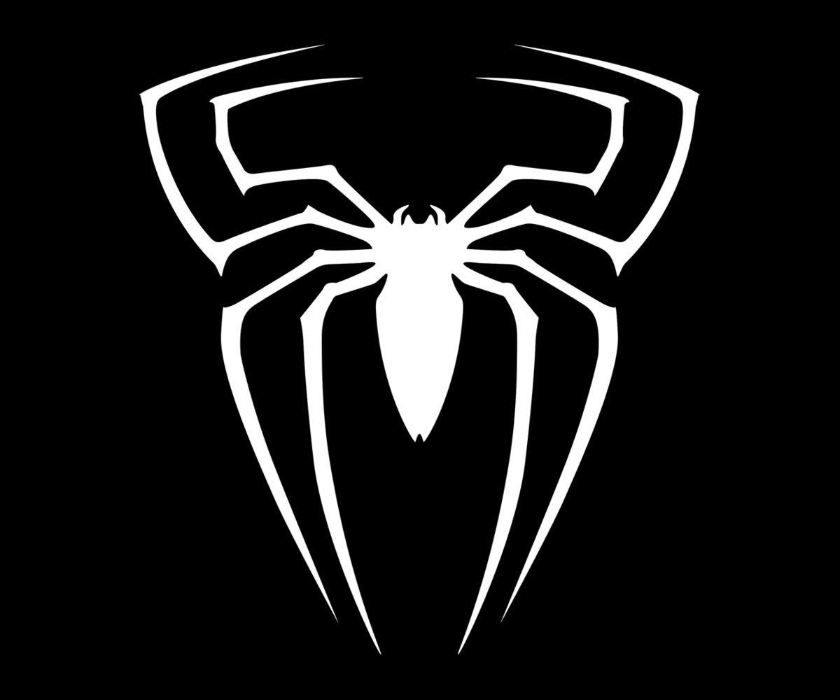 images of black spiderman symbol spacehero