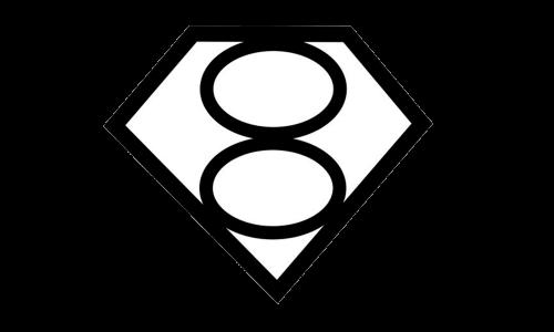 Superman logo 2002 Smallville Mark of El logo