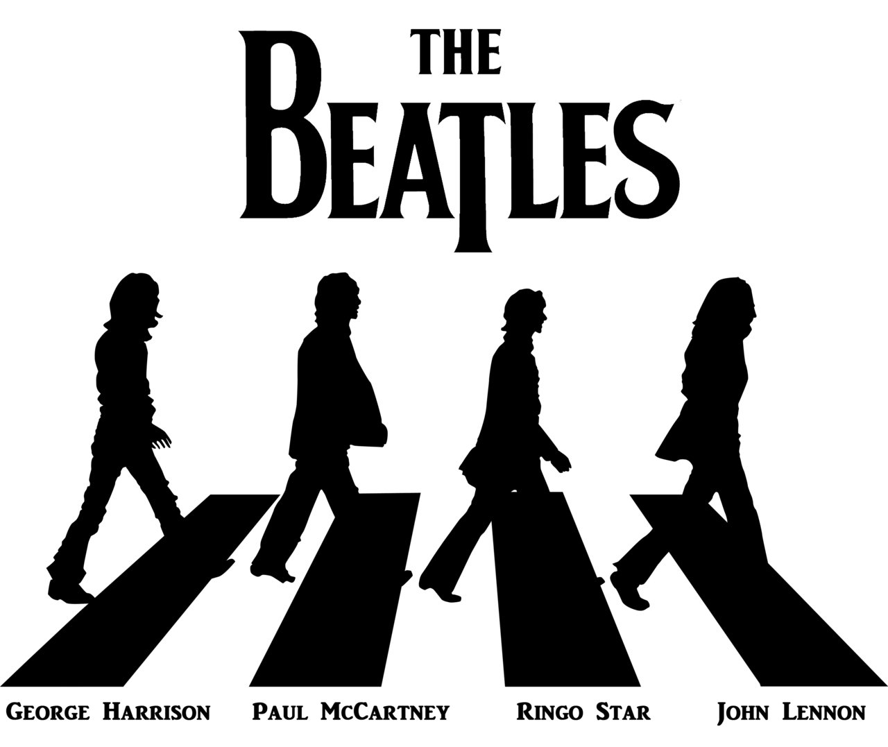 Beatles logo beatles symbol meaning history and evolution for Beatles tattoo abbey road