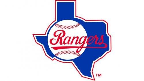 Texas Rangers Logo 1984
