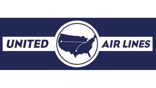 United Airlines Logo 1930
