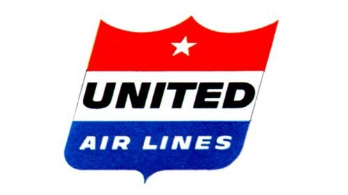 United Airlines Logo 1954