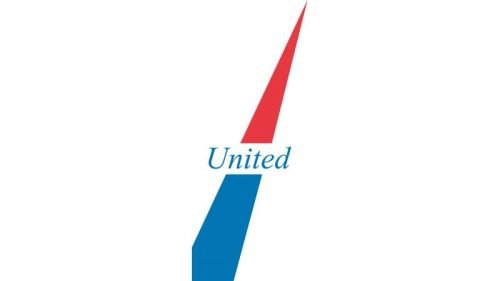 United Airlines Logo 1961