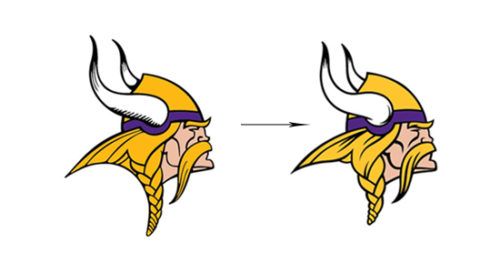 history Minnesota Vikings Logo