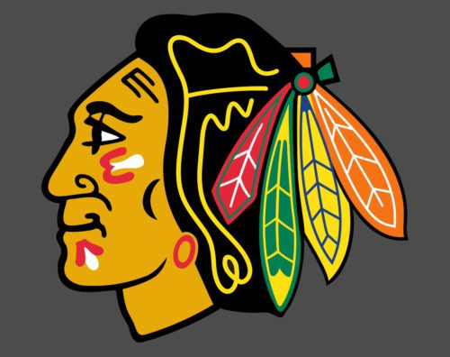 Color Blackhawks Logo
