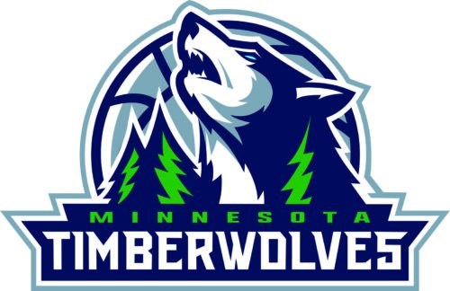 Color Timberwolves Logo