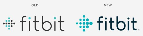 Fitbit Logo history