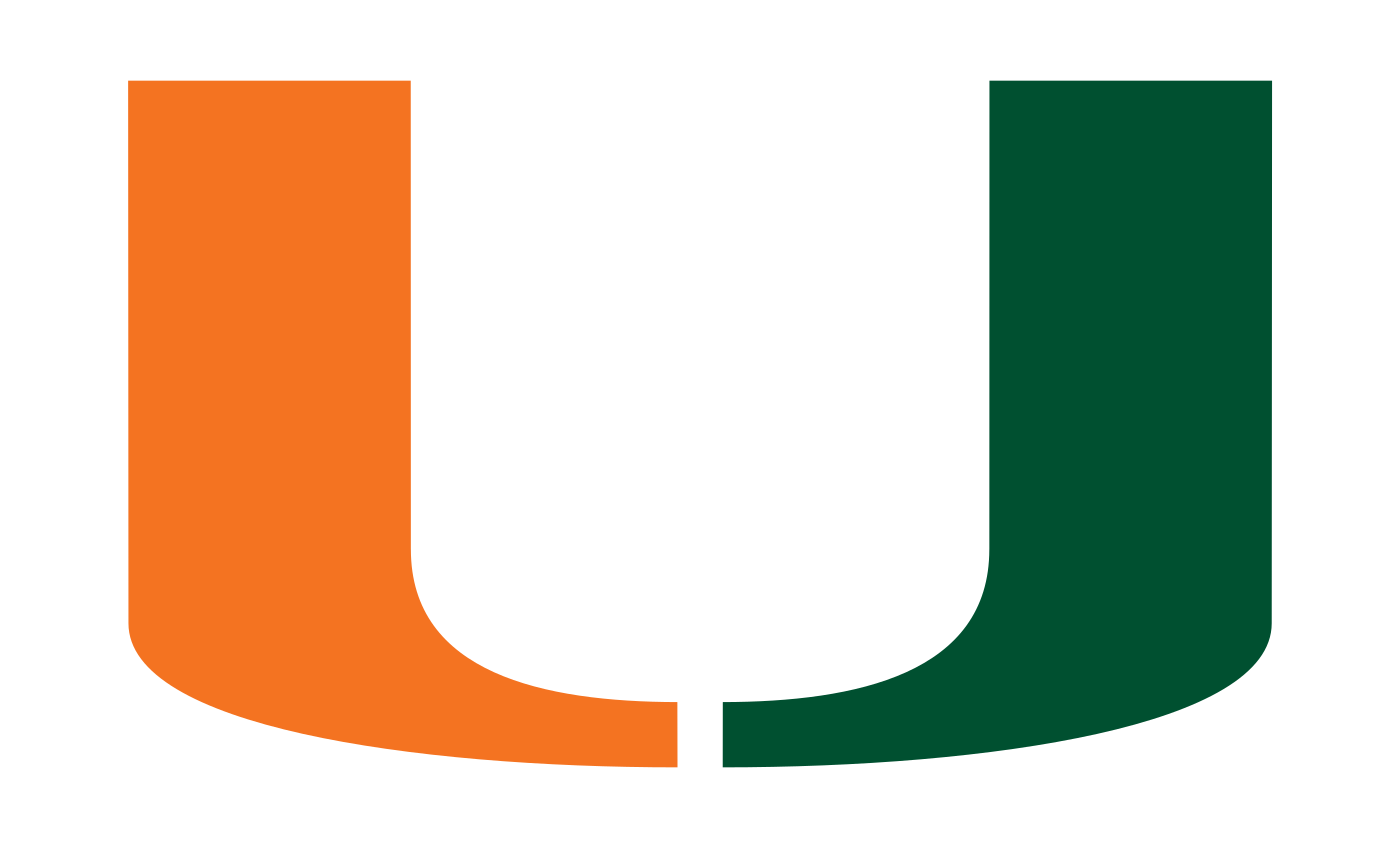 The University Of Miami Logo Often Nicknamed U Has Influenced S Culture In Many Ways For Instance There Is Even Statue On