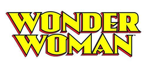 Wonder Woman logo font