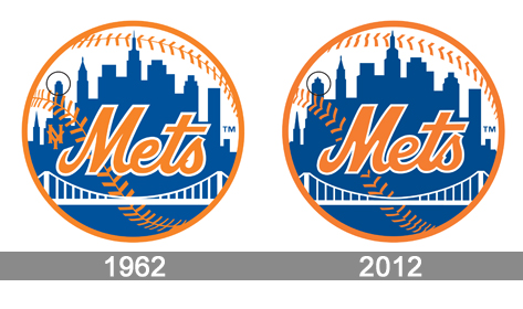 history Mets Logo