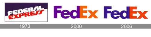 logo Fedex-history