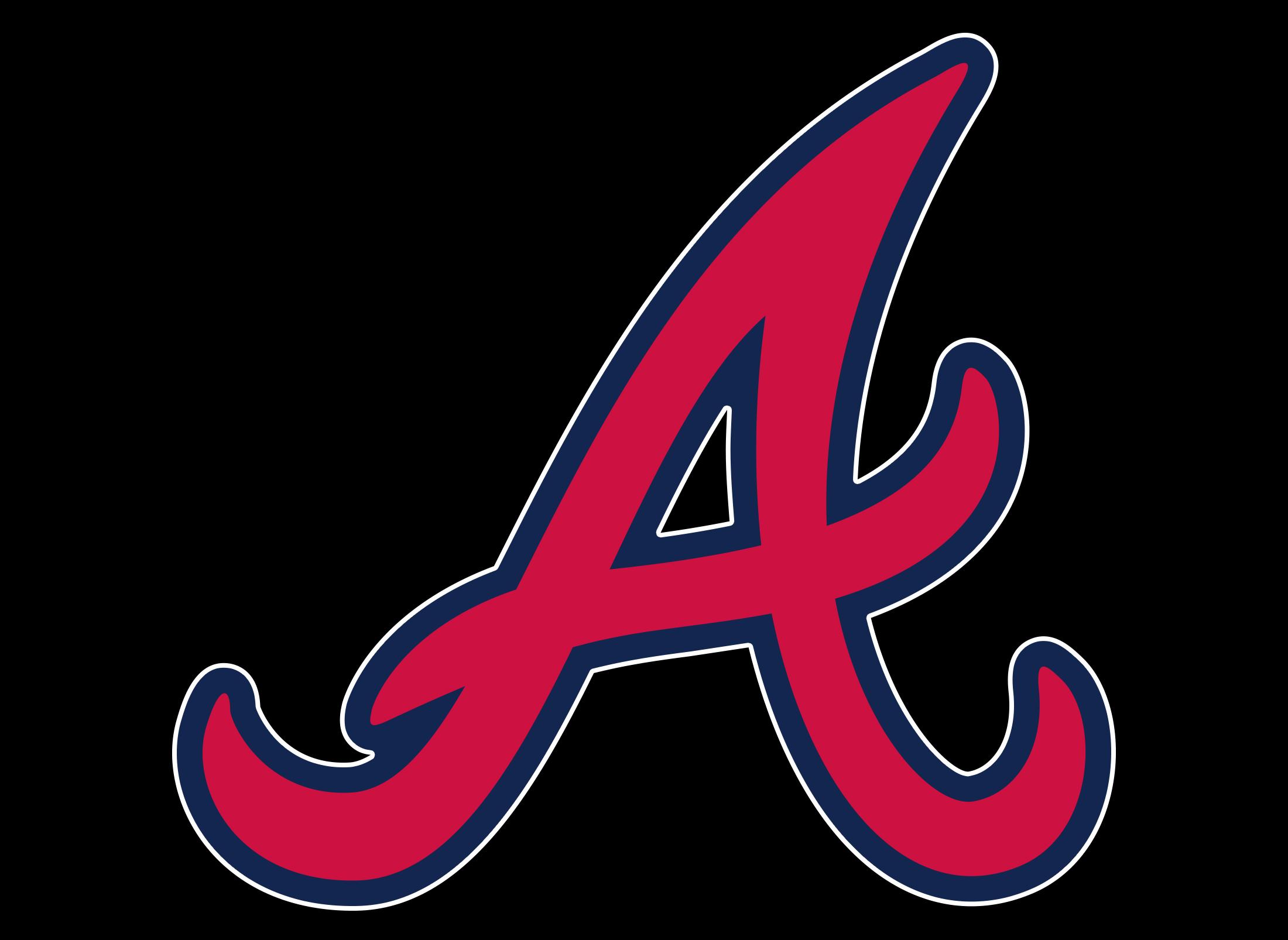 atlanta braves logo  atlanta braves symbol  meaning Atlanta Braves Logo Black Atlanta Braves New Logo