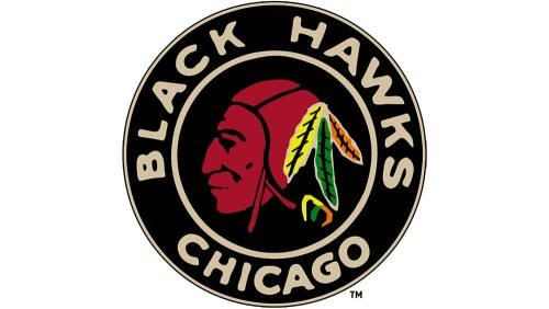 Blackhawks Logo 1935