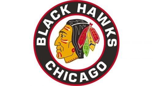 Blackhawks Logo 1955