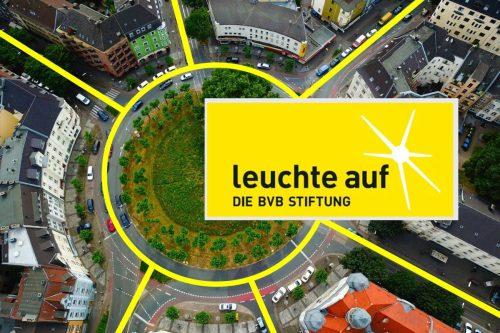 Borussia Dortmund charitable trust logo Leuchte Auf