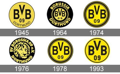 Borussia Dortmund logo history